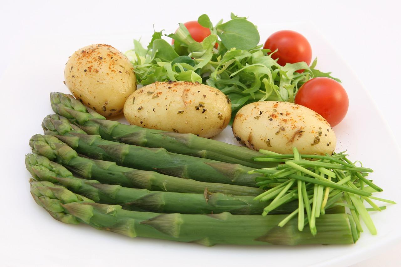 Chřest a další zelenina