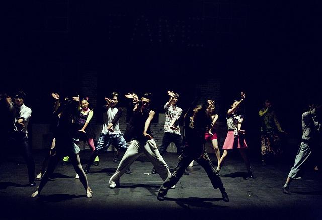 tanec v divadle